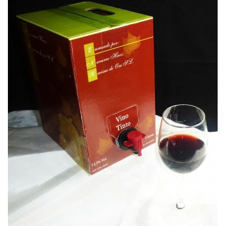 Bag in box  Tinto 5 litros