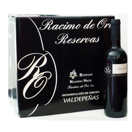 Caja 12 botellas Gran Reserva Racimo de Oro. 2006